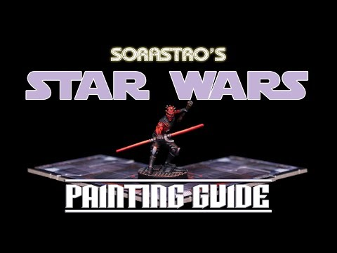 Sorastro's Star Wars Imperial Assault Painting Guide Ep.47: Maul