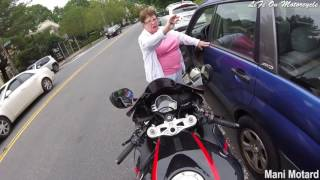 Biker Smash Mirror | Extremely Close Calls, Road Rage, Crashes & Scary Motorcycle Accidents [EP #25]