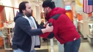 Stupid criminals: Shoplifter busted after stealing Lord and Taylor watch - TomoNews