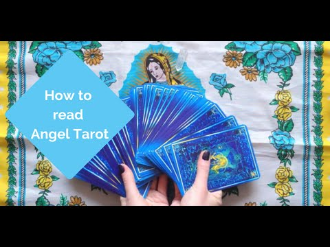 How to read Angel Tarot cards in 13 minutes!