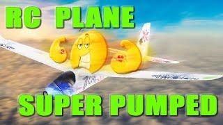 Crazy RC Plane Modification - Glider On Steroids
