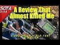 This review almost killed me | SOTA hike Testing the Xiegu X5105  | K6UDA Radio