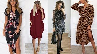 Stylish Women Casual Loose Dress। Loose Summer Dress । Loose Cotton Dress। Loose Maxi । Smart Media