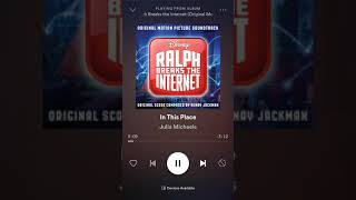 Julia Michaels   In This Place (Official Soundtrack From Motion Picture Ralph Breaks The Internet)