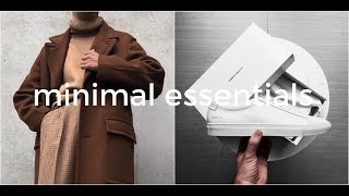 Minimal Menswear | Top 10 Essentials | Mens Fashion | Daniel Simmons
