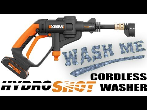 WORX HYDROSHOT – Cordless Water Cleaner – Camping Fishing Beach Pets Gardening – BEST REVIEW
