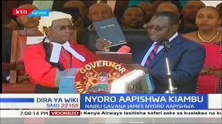 James Nyoro ndiye Gavana mpya wa Kaunti ya Kiambu
