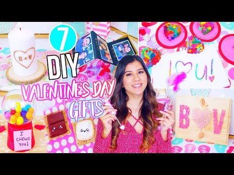 7 DIY Valentine's Day Gift Ideas You NEED To Try!! 2018