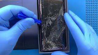 SPLIT !!! Samsung Galaxy S9 + Screen Replacement #samsunggalaxys9plus