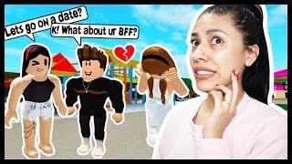 I STOLE MY BEST FRIENDS BOYFRIEND & SHE HAS NO IDEA! - Roblox Roleplay