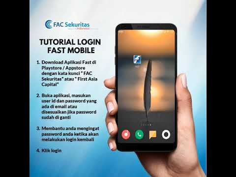 Tutorial Login FAST Mobile