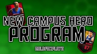 NEW CAMPUS HERO PROMO!! | SICK CARDS AND AMAZING STATS!! | NBA LIVE MOBILE