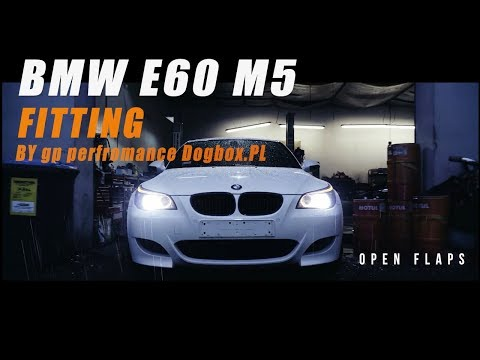 The iPE Exhaust for BMW E60 M5
