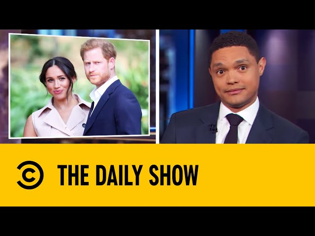 Prince Harry & Meghan To Step Down After Shocking Announcement   The Daily Show With Trevor Noah