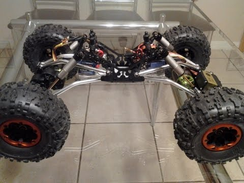 Axial XR10 Comp Crawler / Formula Offroad 5 outrunner motor/internal spring shocks