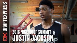 2016 Justin Jackson Nike Hoop Summit Interview - DraftExpress by DraftExpress
