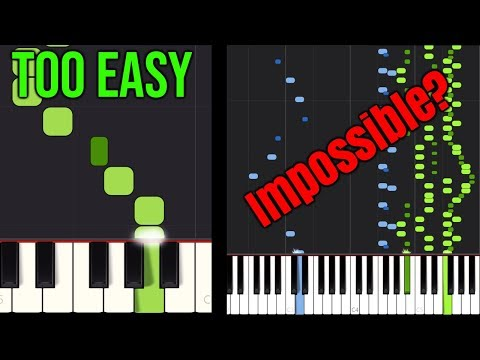 Piano Skills: From TOO EASY to nearly IMPOSSIBLE