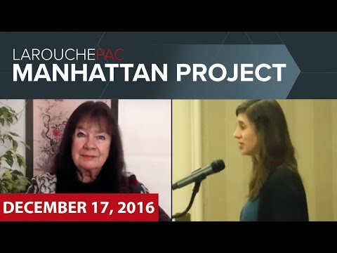 Manhattan Town Hall event with Helga Zepp-LaRouche and Megan