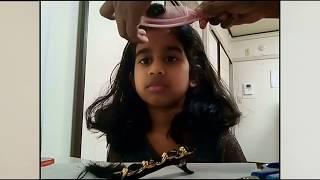 HOW TO CUT HAIR SIDE BANGS EASILY AT HOME|TELUGU
