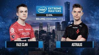 CS:GO - Astralis vs. FaZe Clan [Nuke] Map 2 - Semifinals - IEM Beijing-Haidian 2019