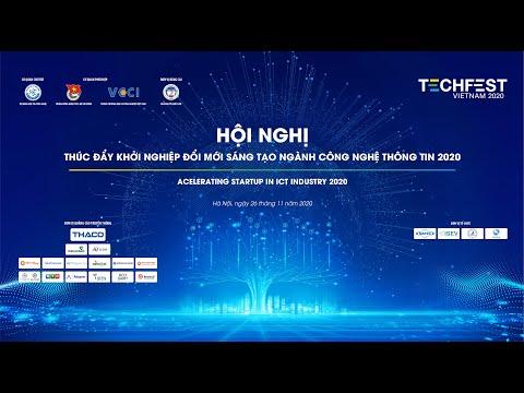 [TECHFEST VIETNAM 2020]Start-ups Pitching : Cung cấp nền tảng, dịch vụ, giải pháp chuyển đổi số