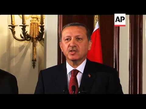Erdogan comments on Israel after meeting Egyptian prime minister