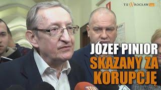 Józef Pinior skazany na 1,5 roku więzienia za korupcję