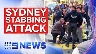 BREAKING NEWS: Man arrested, at least one injured in Sydney stabbing attack | Nine News Australia