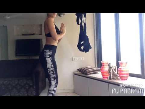Fitness tips by Auraa model Gabi