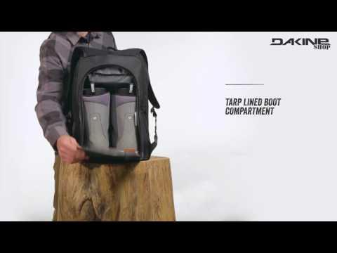 Dakine Boot Pack 50L Geräumiger Rucksack für Ski Schuhe, Snowboard Boots & Helm