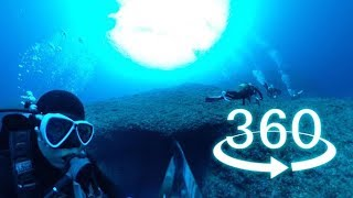 RICOHTHETAV360movieunderwater伊良部島