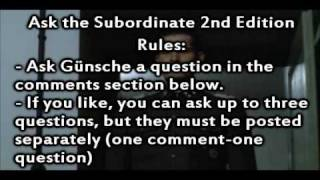 Ask The Subordinate 2nd Edition