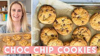Chocolate Chip Cookies Recipe 🍪 Chewy, Soft + Gluten free