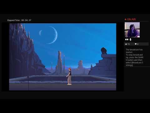 Another World PS+ R-e-n = ❤ (PS4) CZ Záznam streamu /ukázka hry - září 2019/