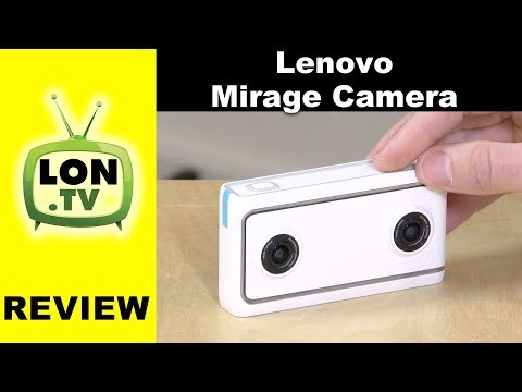 Lenovo Mirage VR180 3D Camera Review – Videos and Photos