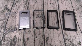Samsung Galaxy Note8 Ghostek Case Lineup