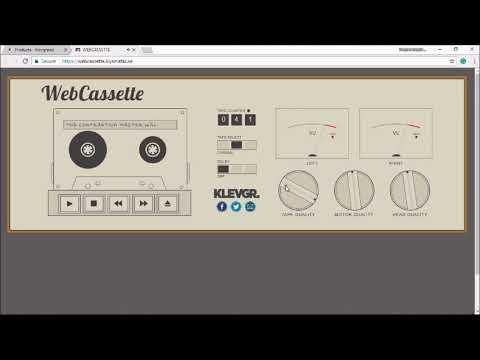 OT: WebCassette by Klevgrand — Audiobus Forum