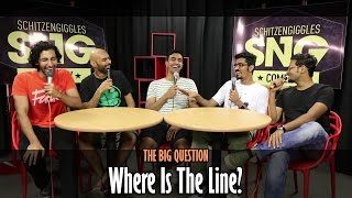 SnG Censorship In India Feat Azeem Banatwalla  The Big Question Episode 8  Video Podcast