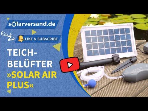 Esotec Teichbelüfter Solar Air-plus