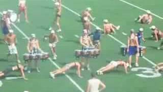 2008 Cadets full corps ensemble rehearsal - part 2 (7/23)