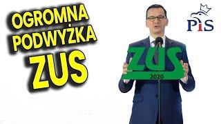 Rekordowa Podwyżka Sładek ZUS bo PIS nie ma Pieniędzy