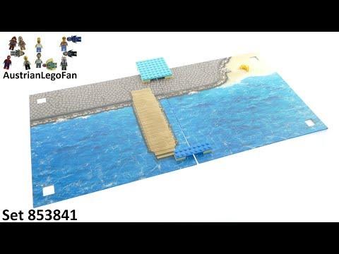 "Vidéo LEGO Objets divers 853841 : LEGO Xtra - Tapis de jeu ""La mer"""