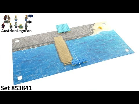 Lego Xtra 853841 Sea Playmat - Unboxing and Build