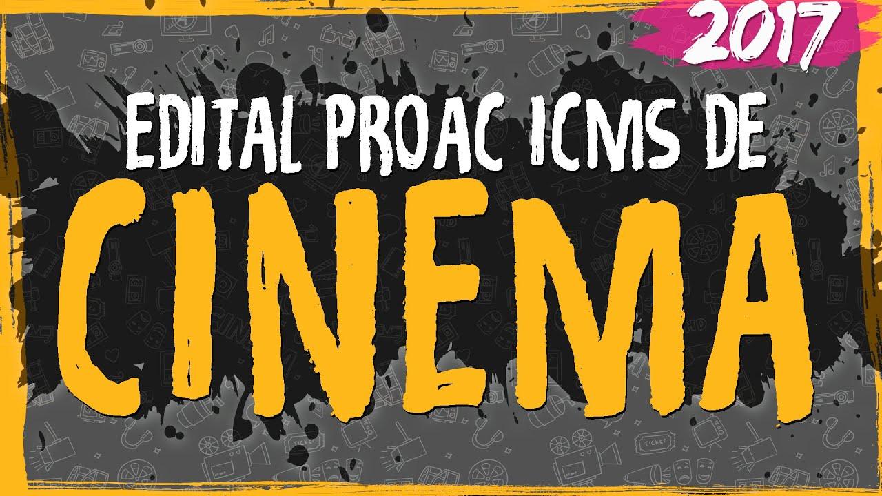 Edital ProAC 2017 de Cinema