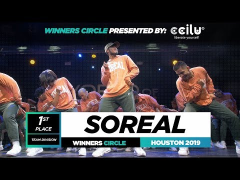 SOREAL | 1st Place Team | Winner Circle | World of Dance Houston 2019 | #WODHTOWN