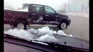 preview picture of video 'Snow in jordan - amman 2008 ثلج في الاردن - عمان'
