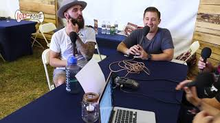Baby Huey and Chasta interview August Burns Red at Afterschock 2017