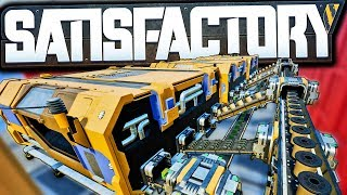 Satisfactory Computer Factory FINALLY Automated! | Satisfactory Early Access Gameplay Ep 18