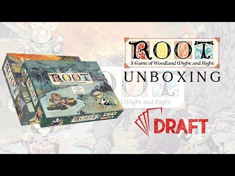 ROOT + Riverfolk unboxing // mi van a dobozban? - :: Draft :: Társasjáték vlog