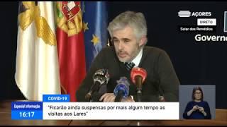 06/05: Ponto de Situação da Autoridade de Saúde Regional sobre o Coronavírus nos Açores